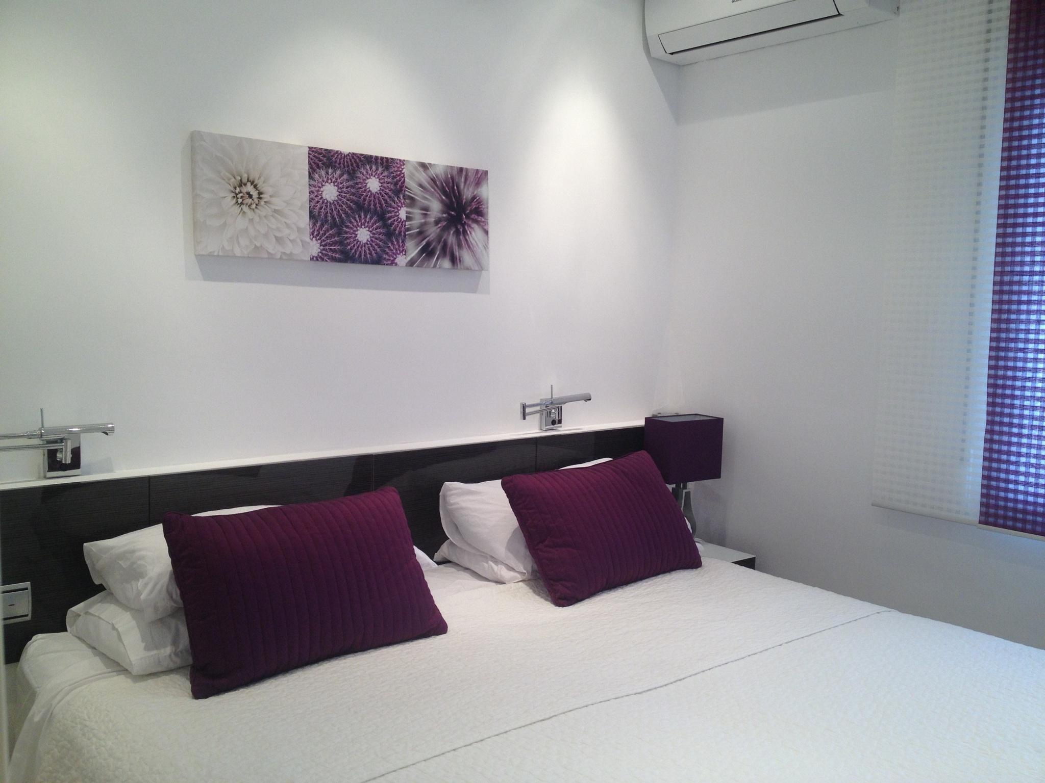 Skol apartments, Marbella - apartment 811A -  Bedroom set up as a super kingsize