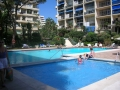 Skol apartments, Marbella family pool and childrens\' shallow paddling pool